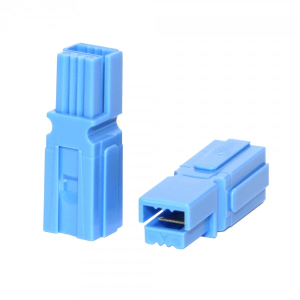 Anderson PowerPole® Gehäuse blau mit Fingerschutz