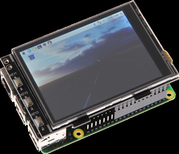 "3,2"" Touchscreen Display für Raspberry Pi"