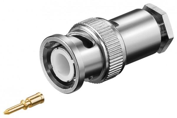 BNC-Stecker für 5 mm Koaxialkabel