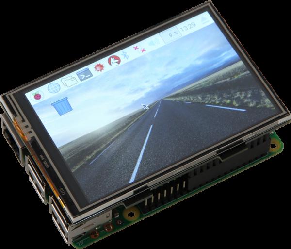 "3,5"" Touchscreen Display für Raspberry Pi"