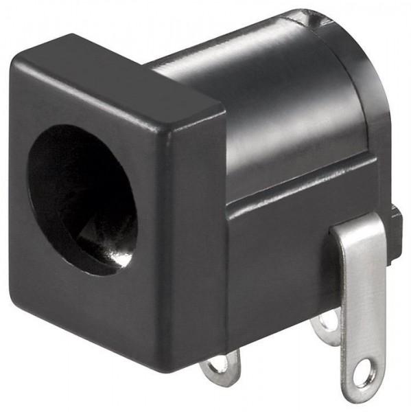 Hohlstecker / DC-Stecker Einbaubuchse 2,1mm