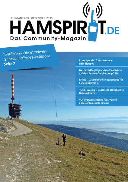 HAMSPIRIT #09 - Das Community-Magazin