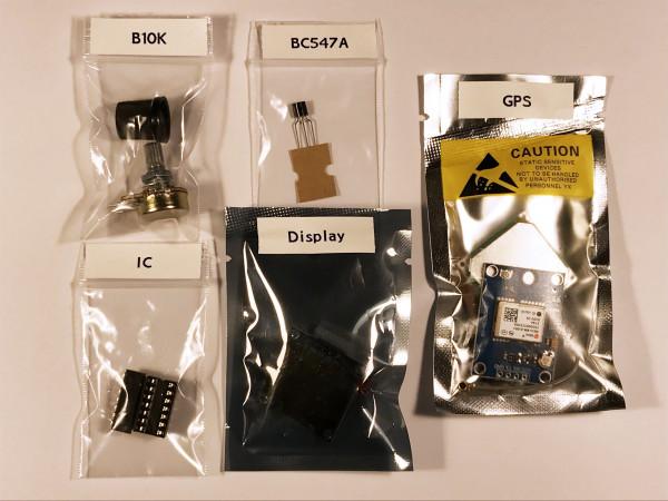 TEO-X APRS Tracker Bauteile 2