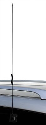 VHF/UHF Duoband-Klebeantenne Glasklebeantenne (700mm)