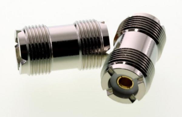 Adapter UHF-Buchse / UHF-Buchse (PL-Buchse)