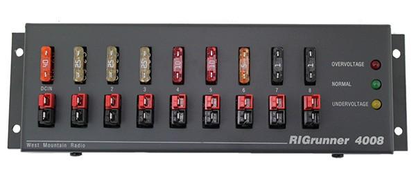 RigRunner 4008C PowerPole® DC-Verteilung
