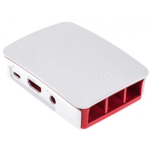 Offizieles Raspberry Pi 3 Gehäuse rot / weiss