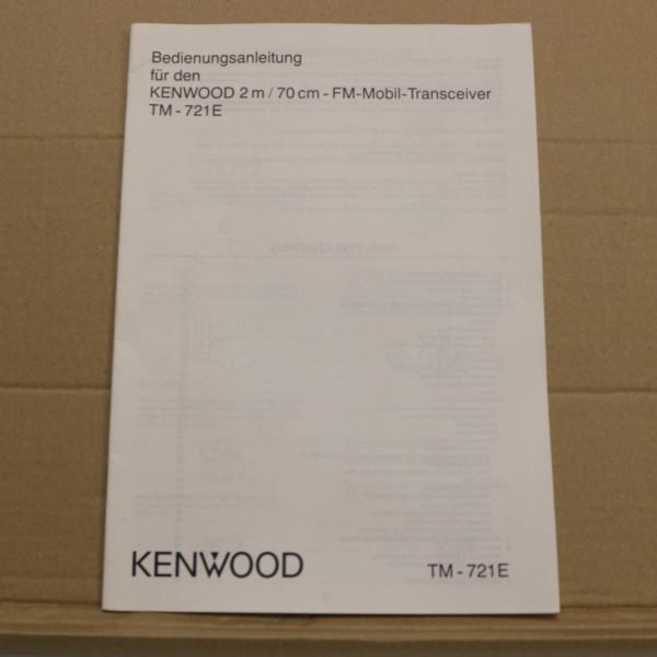 Kenwood TM-721E Bedienungsanleitung