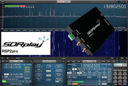SDRPlay RSP2pro SDR Empfänger