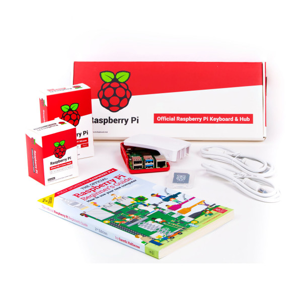 offizielles Raspberry Pi 4 4GB Desktop Kit