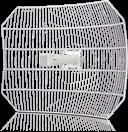 Ubiquiti AirGrid M5 AG-HP-5G27 - 27dBi Gitterantenne