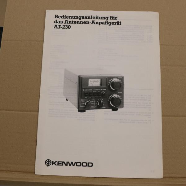 Kenwood AT-230 Bedienungsanleitung