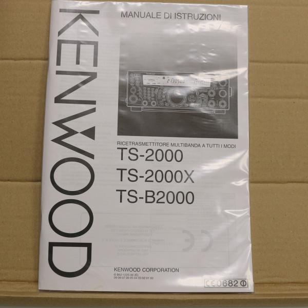 Kenwood TS-2000/TS-2000X/TS-B2000 MANUALE DI ISTRZIONI