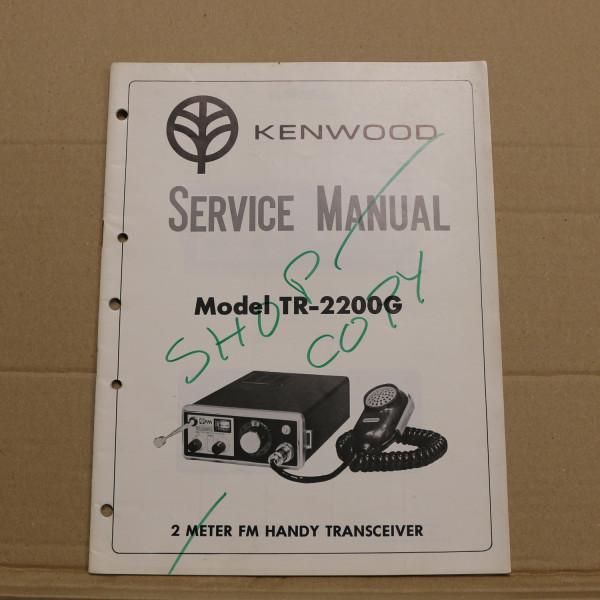 Kenwood TR-2200G Service Manual