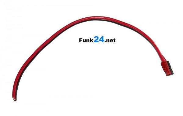 PowerPole® 4mm² Set mit offenem Kabelende, rot/schwarz CCA