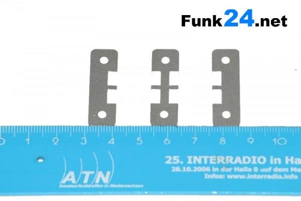 PP15-PP45 Halterung Montagerahmen Alu NextGeneration für PowerPole® PP15-PP45