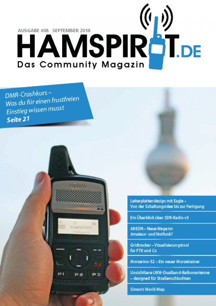 HAMSPIRIT #08 - Das Community-Magazin