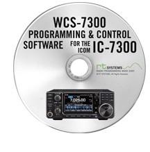 WCS-7300 Programmiersoftware für IC-7300