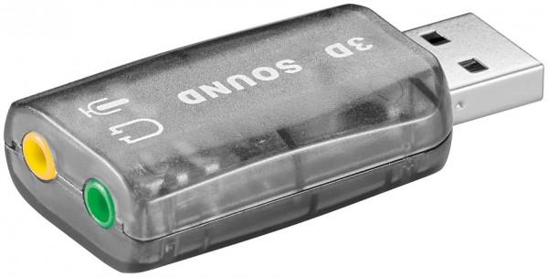 USB 2.0 Soundkarte Mic und Line Out