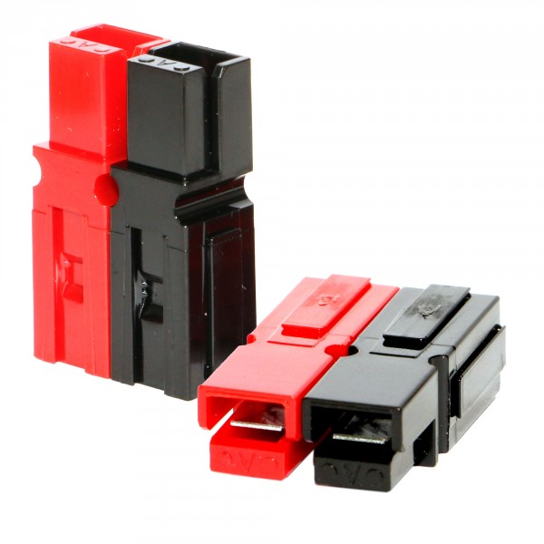 Anderson PowerPole® Gehäuse rot/schwarz, fest verschweißt