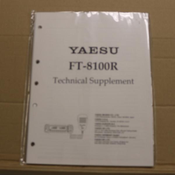 Yaesu FT-8100R Technical Supplement