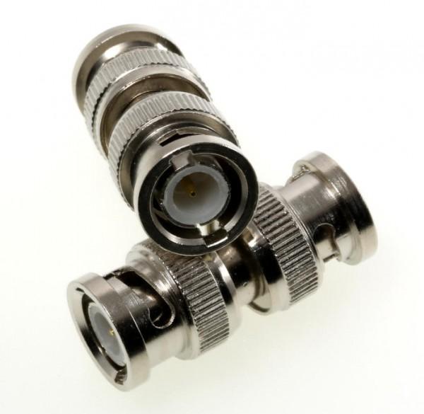 BNC-Verbinder / Adapter (BNC-Stecker / BNC-Stecker)