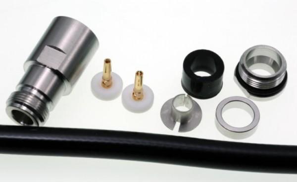 N-Buchse für 10mm Koaxialkabel