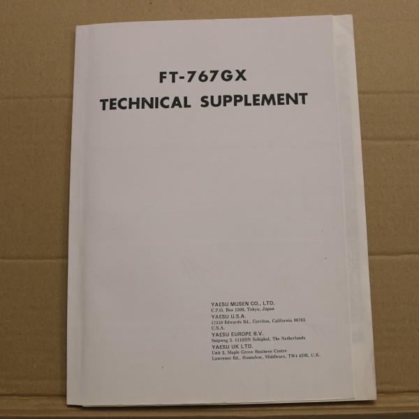 Yaesu FT-767GX Technical Supplement