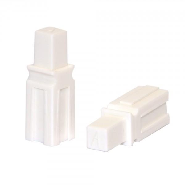 Anderson PowerPole® Abstandshalter / Spacer lang weiß