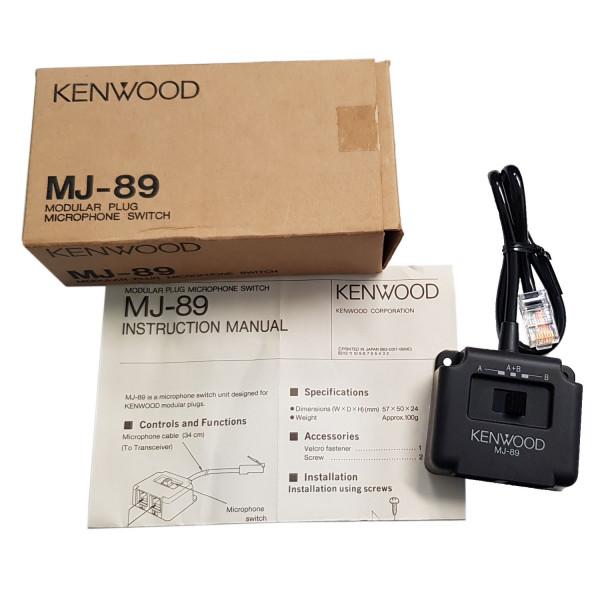 Kenwood MJ-89 Mikrofonumschalter
