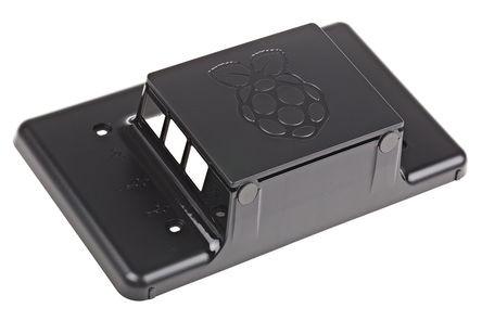 """Gehäuse schwarz, für Raspberry Pi 7"""" Touchscreen"""