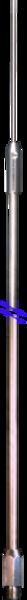 Tank Whip Edelstahl Antennenstrahler mit 3/8-Anschluss 275cm