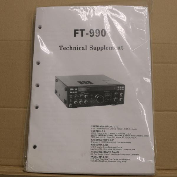 Yaesu FT-990 Technical Supplement
