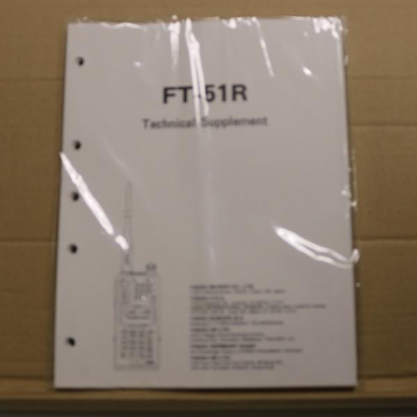 Yaesu FT-51R Technical Supplement