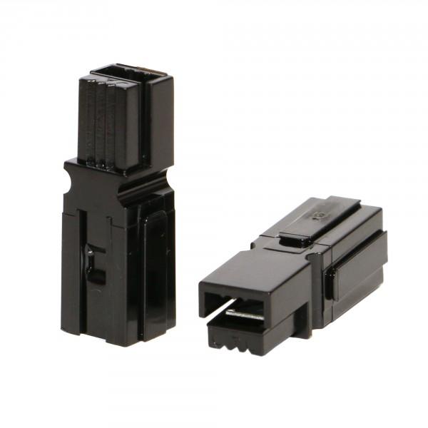 Anderson PowerPole® Gehäuse schwarz mit Fingerschutz