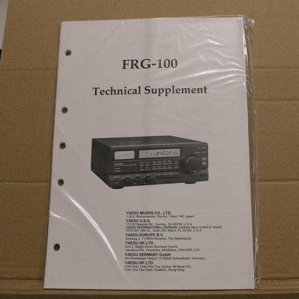 Yaesu FRG-100 Technical Supplement