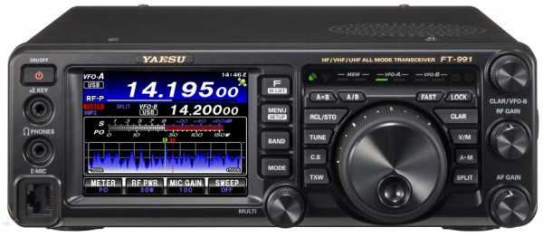 Yaesu FT-991A KW/2m/70cm Tuner C4FM