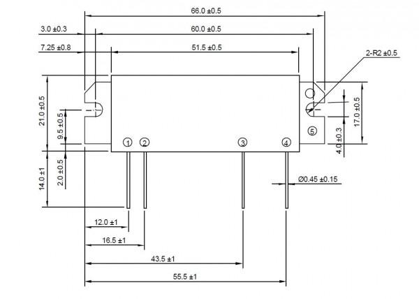 RA30H4047M RF Mosfet Module 400-470 MHz 30W