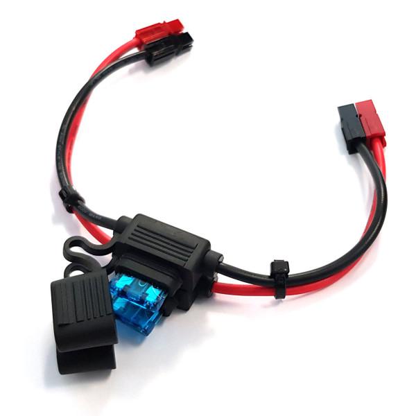 PowerPole®-Kabel mit KFZ-Sicherungen 15A