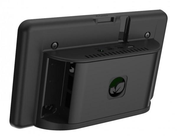 """Gehäuse für Raspberry Pi 4 und 7"""" Touchscreen (schwarz)"""