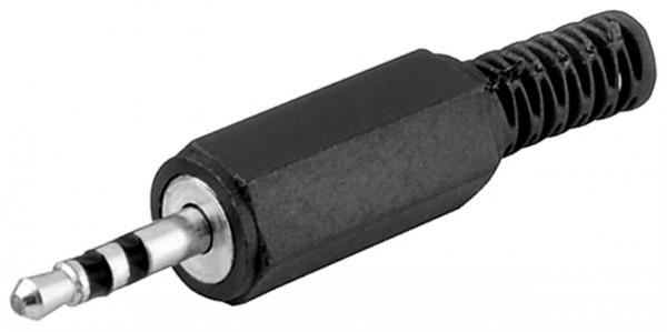 2,5 mm Klinkenstecker 3-polig