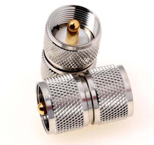 Adapter UHF-Stecker / UHF-Stecker