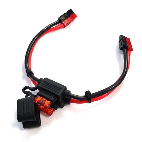 PowerPole®-Kabel mit KFZ-Sicherungen 40A