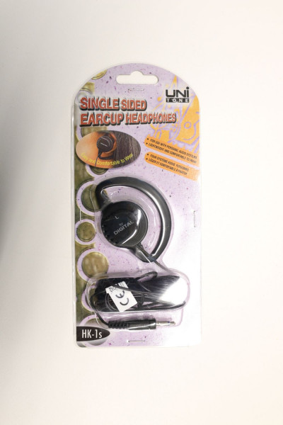 UNI Tone HK-1s Single Sided Earcup Headphones