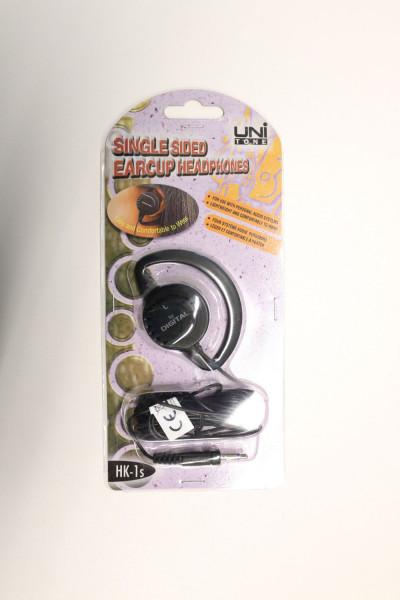 UNI Tone HK-1s Single Sided Earcup Headphones