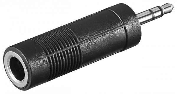 Kopfhörer Adapter Klinke 3,5 mm zu 6,35 mm