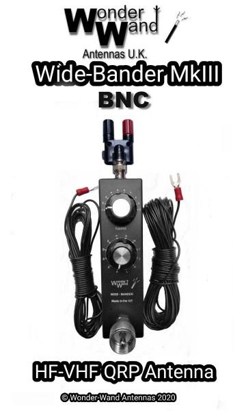 WIDEBANDER mk3: QRP Allband-Antenne von 1.8 bis 450 MHz