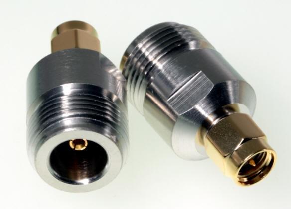 Adapter N-Buchse / SMA-Stecker