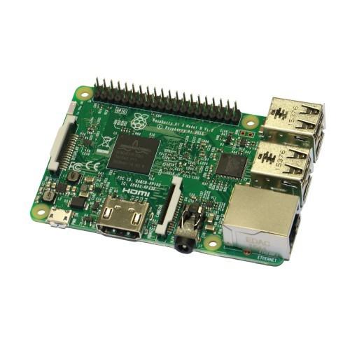 Raspberry Pi 3 (1,2 GHz, 64 bit, WLAN, Bluetooth)