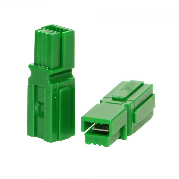 Anderson PowerPole® Gehäuse grün mit Fingerschutz